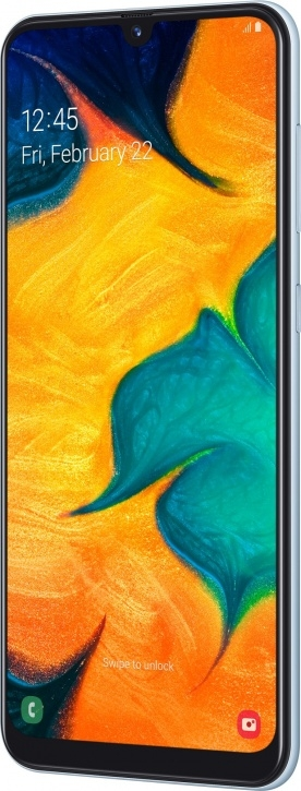 Смартфон Samsung Galaxy A30 32Gb Белый (SM-A305F)