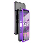 Чехол Luphie Magnetic Frame + Full Screen Protection для Samsung Galaxy S9 Purple