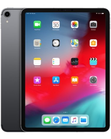 "Apple iPad Pro 11"" Wi-Fi 64Gb Space Gray (MTXN2)"