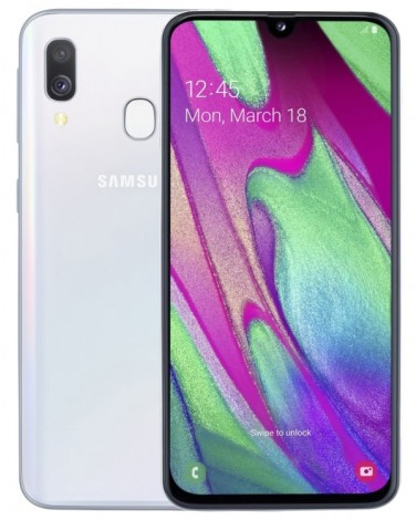 Смартфон Samsung Galaxy A40 64Gb Белый (SM-A405F)