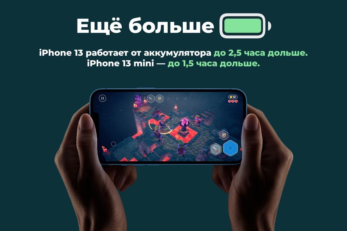 Смартфон Apple iPhone 13 128Gb Starlight
