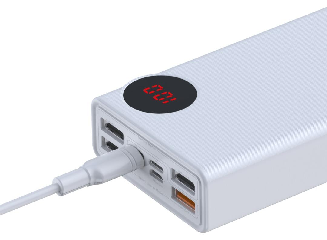Baseus Mulight Quick Charge Power Bank 30000mAh PPMY-02