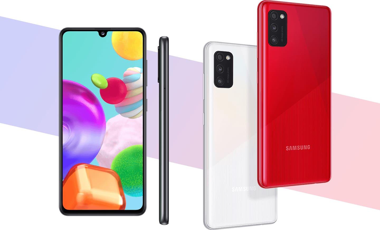Смартфон Samsung Galaxy A41 64Gb Красный (SM-A415F)