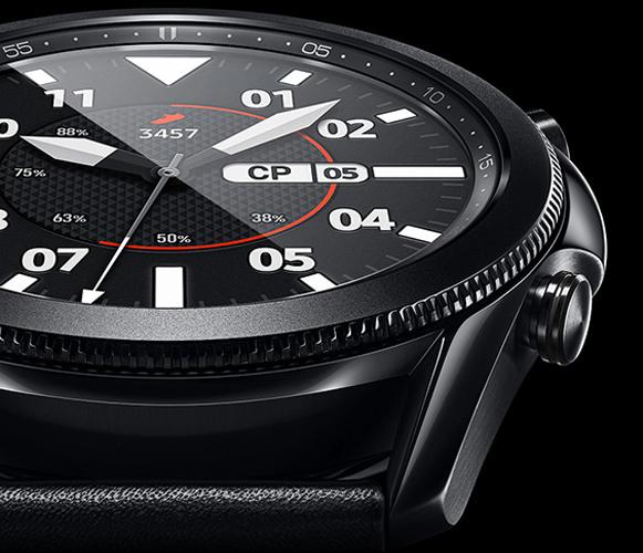 Samsung Galaxy Watch3 45 мм, Чёрные дизайн
