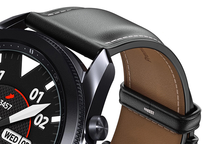 Samsung Galaxy Watch3 45 мм, Чёрные характеристики