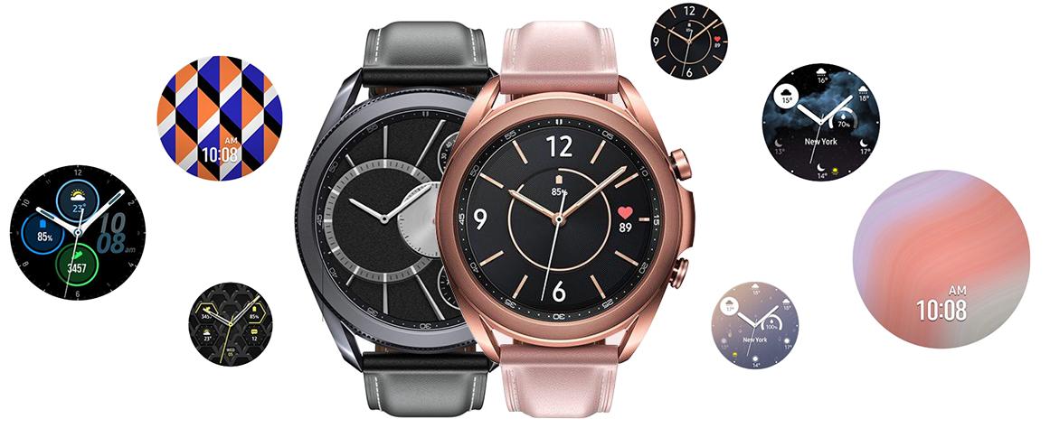 Купить Samsung Galaxy Watch3 45 мм, Чёрные