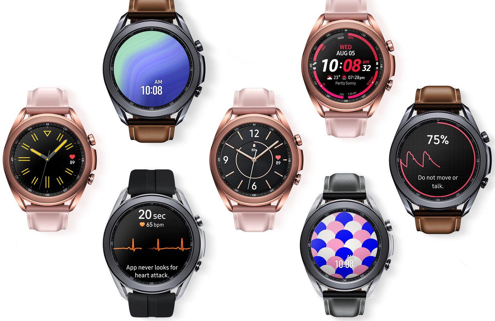 Samsung Galaxy Watch3 45 мм, Чёрные